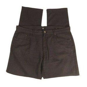 Calvin Klein 38 x 32 Slim Fit Pants Charcoal Gray